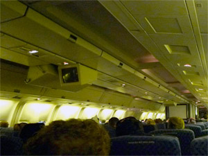 Airplane Interior Lights