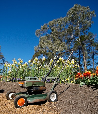 lawn mower seems to run rough - Walk-Behind Lawn Mowers