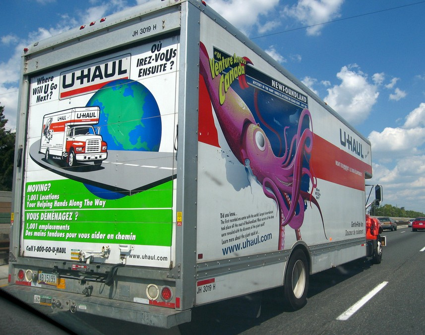 U Haul Newfoundland all corporate owned U-Haul
