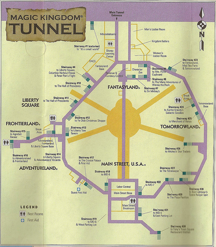 Does Disney World Have Underground Tours