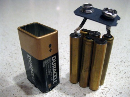 Aaaa Batteries Inside Almost All 9v Batteries