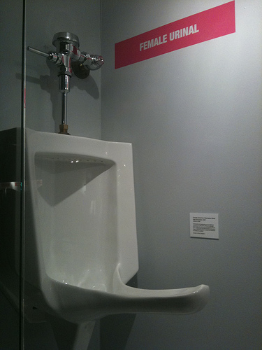 Urinals Are Not Just For Men