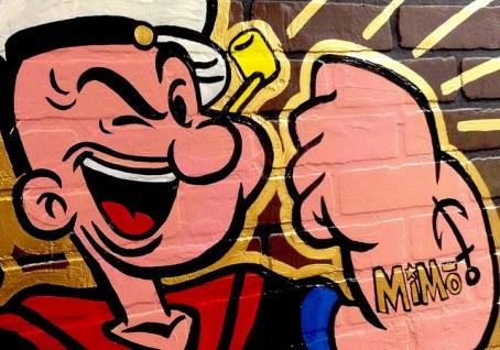 popeye graffiti